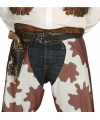 Wild West cowboy holster met pistool